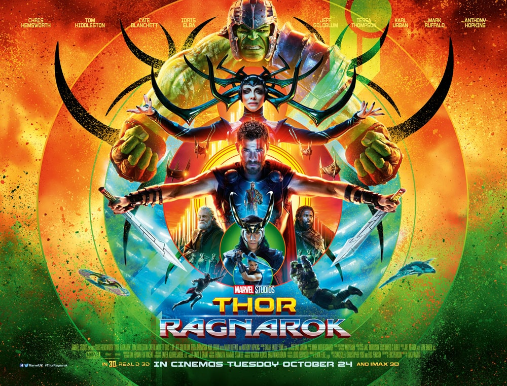 Thor Ragnarok - Picture Production Company